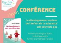 Le développement moteur de l'enfant… (Conférence 1er juillet à l'Espace Citoyen)