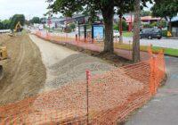 Création d'une piste cyclable sécurisée (en direction de Carrefour)