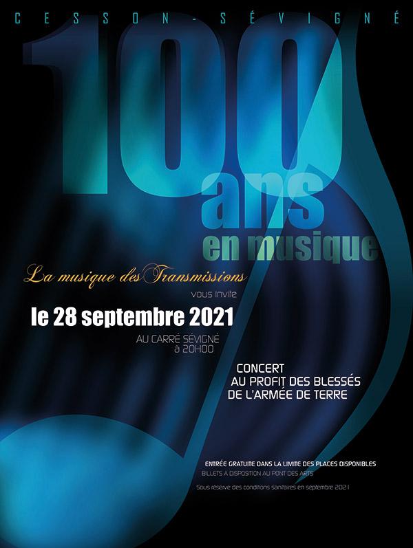Concert 100 ans en musique (Carré Sévigné)