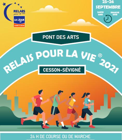 Le Relais pour la Vie (Parc du Pont des Arts)