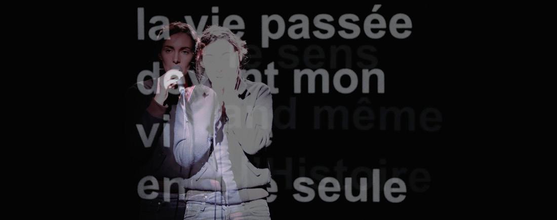 Théâtre - De la disparition des larmes (Pont des Arts – Auditorium)