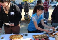 Retour en images sur le concours de tartes aux pommes qui a eu lieu samedi place de l'Eglise
