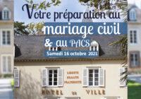 Réunion d'information sur le mariage civil et le Pacs samedi 16 octobre