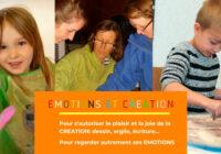 Ateliers Emotions et création pendant les vacances de la Toussaint