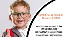Projet d'ouverture d'une filière maternelle bilingue français-breton