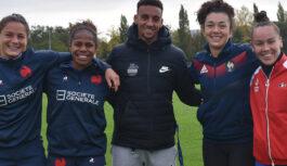 Rugby à 7 : quatre joueuses de l'équipe de France à Cesson-Sévigné